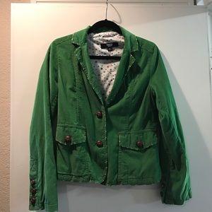 CoffeeShop Jackets & Blazers - Distressed Corduroy Blazer