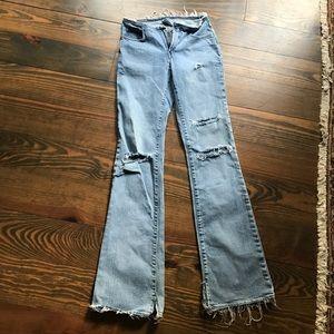 "Parasuco Denim - Distressed parasuco jeans size 25/32"""