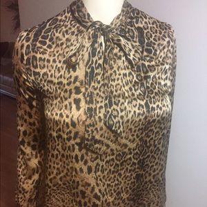 Love & Legend Tops - Leopard Print Blouse