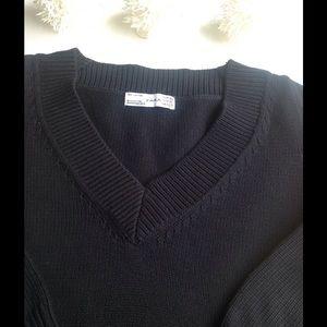 Zara Black VNeck Sweater