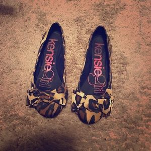 Kensie Girl Shoes - Leopard flats