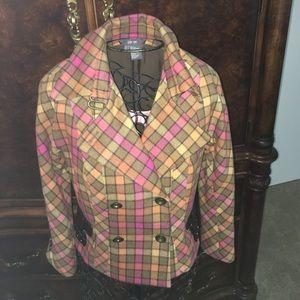 Amazing jacket 85% wool 15% cashmere size 4 NWOT
