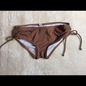 Mocha Victoria's Secret Bikini Bottoms XS 