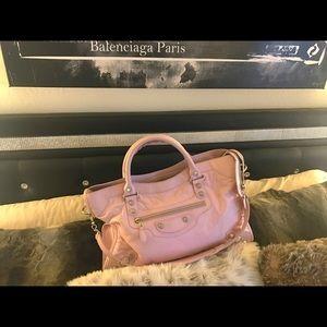 Balenciaga Handbags - Balenciaga pink rose poudre city bag