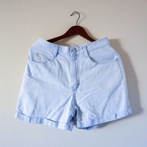 Vintage 80's 90's RIDERS denim cuff shorts