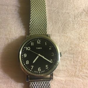 Timex Other - Timex watch stainless steel glow in the dark