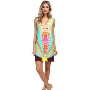 Mara Hoffman Dresses & Skirts - Mara Hoffman Sleeveless Beams Shift Dress