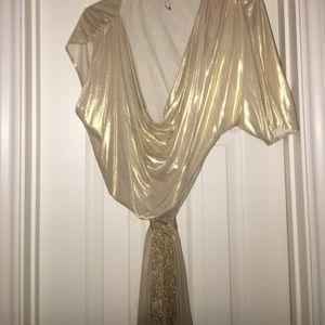 Ports 1961 Dresses & Skirts - PORTS SILKY SHINEY SOFT BELTED DRESS