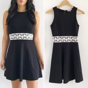 Monteau Dresses & Skirts - NWT Black Fit and Flare Dress