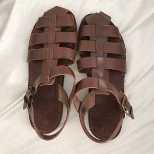 Authentic Greek Leather Sandals