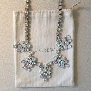 J.Crew Crystal Chandelier Necklace