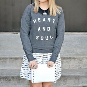 Old Navy 'Heart and Soul' Sweatshirt