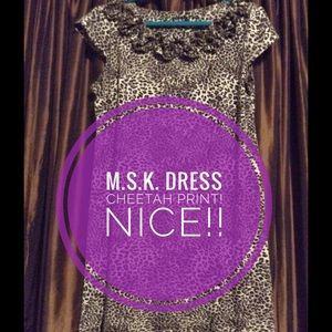 M.S.K. Cheetah print dress Super Cute!!!