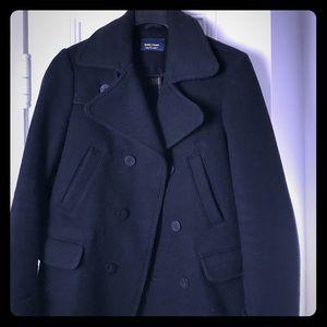 Zara short pea coat