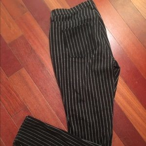 Uniqlo Denim - Pinstripe jeggings
