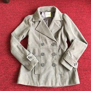Black Poppy Jackets & Blazers - Black Poppy grey pea coat