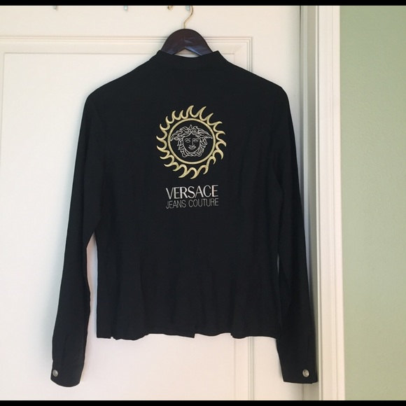 4a30ee8f8d0bb0 Versace Tops | Vintage Button Up Tags On | Poshmark
