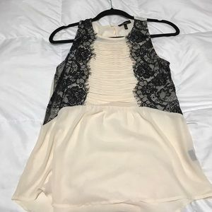 Monteau Tops - Sheer sleeveless top