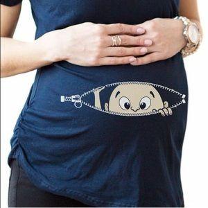 Crazy Dog T-Shirts Tops - FINALPRICE‼️ Crazy dog maternity shirt! 👚👶🏼
