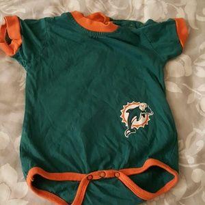 Infants dolphins onesie