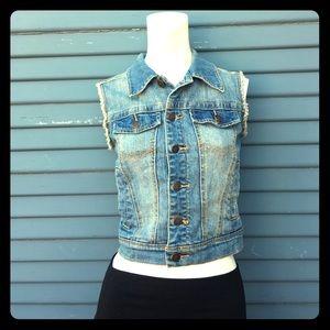 American Rag Jackets & Blazers - AMERICAN RAG - jean vest in BRAND NEW CONDITION