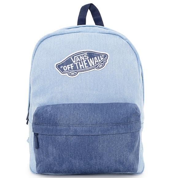 1a24627bd2 Vans Realm Denim Backpack