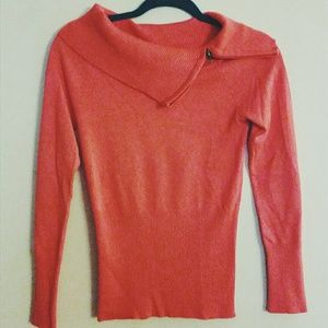Grane Sweaters - Sweater with unique neck detailing