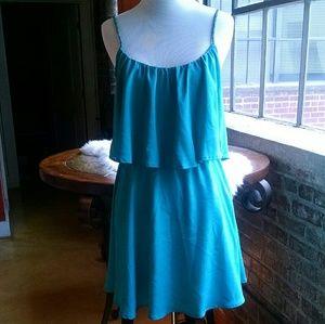 Isabel Lu Dresses & Skirts - Isabel Lu Ruffle Overlay Dress, XS
