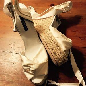 Ralph Lauren Black Label Shoes - RALPH LAUREN COLLECTION Wedge Lace-Up