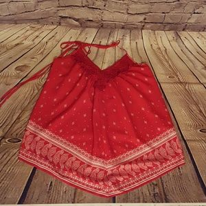 MM Couture Tops - MM Couture handkerchief halter top size S