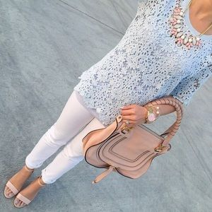 Chicwish Tops - 🆕LISTING {Chicwish} Baroque Lace Cutout Top