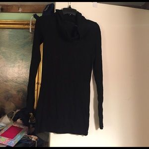 PattyBoutik Sweaters - BNWT Black Cowl Neck Sweater