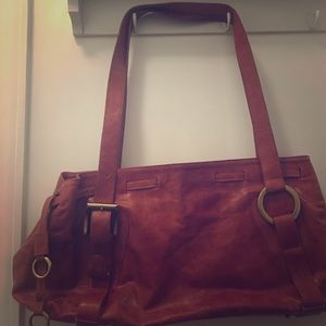 Handbags - One of a Kind Peruvian Leather Bag
