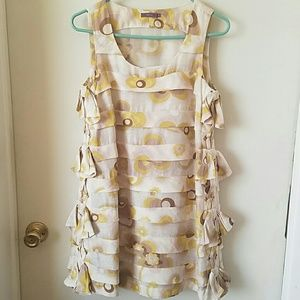 Jessica Floral Dress with bows on the side