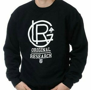 Lrg Other - Lrg original research black crewneck sweatshirt