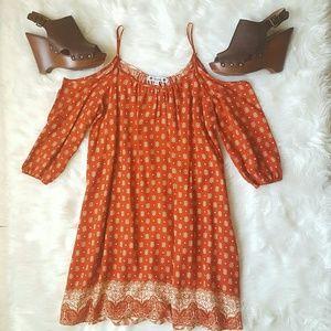 Dresses & Skirts - Orange Shift Dress