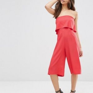 Influence Other - NWT Ruffle Strapless Jumpsuit