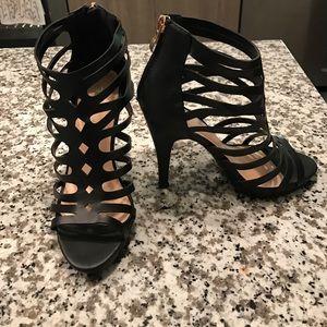 Top Moda lattice heels