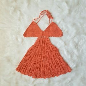 Other - Coral Crochet Coverup