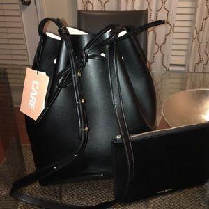 Mansur Gavriel Handbags - Authentic Large Mansur Gavriel Bucket Bag Pink