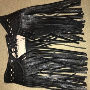 BCBG fringe Belt NEW with tags