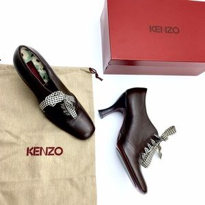 Kenzo Shoes - :: Kenzo Mary Jane Flapper Brown booties