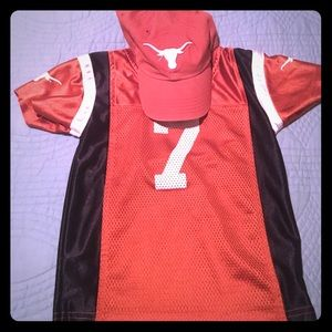 47 Other - Boys UT jersey and hat