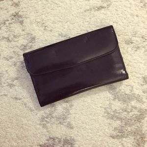 Echt Prym Handbags - Vintage black leather Echt Prym wallet w/ notepad
