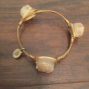 Bourbon and Bowties Jewelry - Bourbon & Bowties standard fit stone bangle