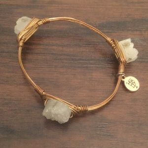 Bourbon and Bowties Jewelry - Bourbon & Bowties standard sized stone bangle