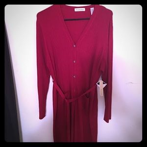 Amanda Smith Sweaters - NWT Long belted sweater