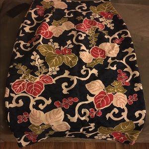 Zara Printed Skirt NWT