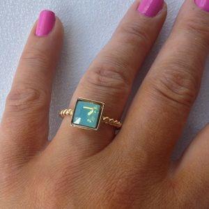 Jessica Elliot Jewelry - Swarovski Pacific Opal Ring by JE