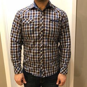 7 Diamonds Other - Men's 7 Diamonds long sleeve button up shirt.